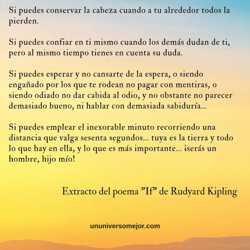 If poema de Rudyard Kipling