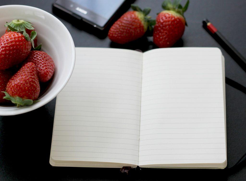 Fijar objetivos por escrito