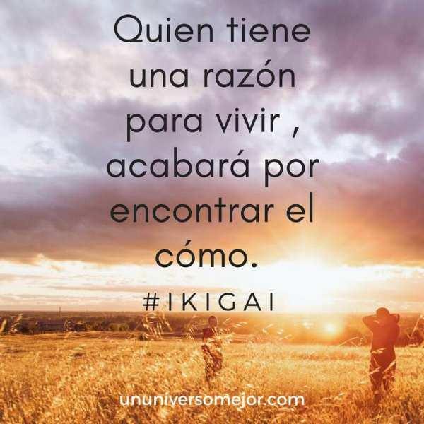 ikigai, tu razón para vivir