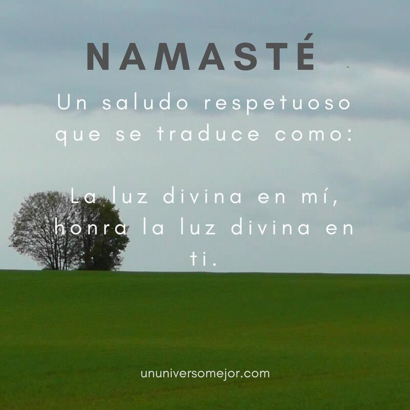 Namaste: que significa