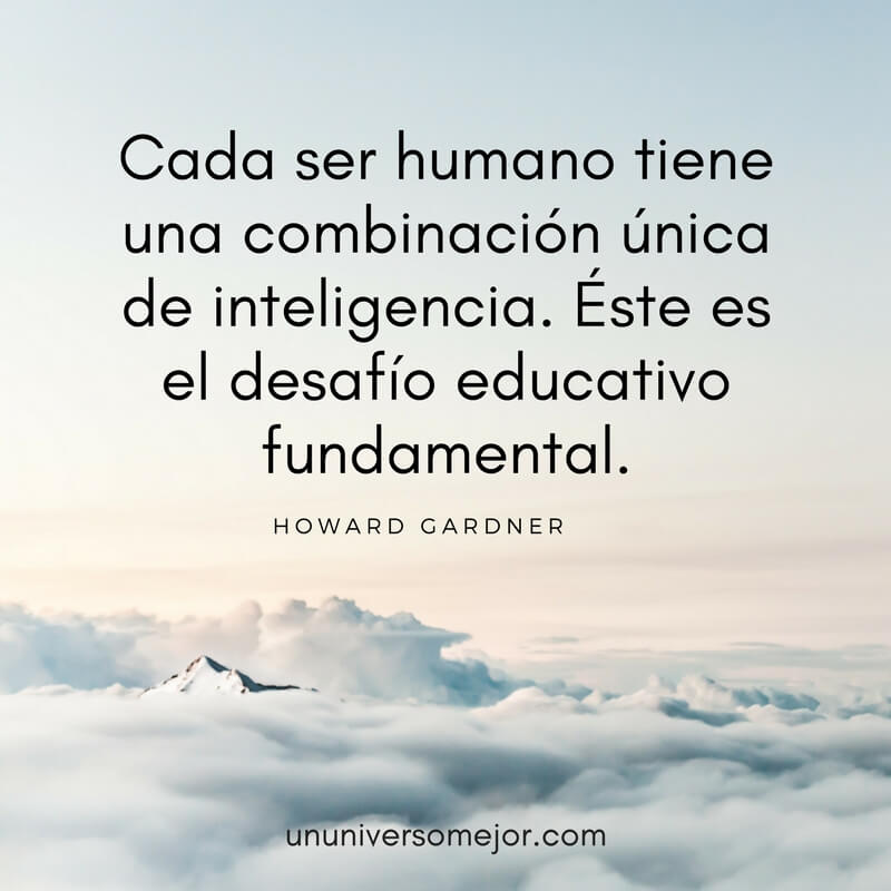 teoria inteligencias multiples howard gardner
